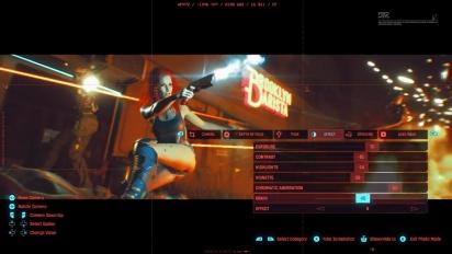 Cyberpunk 2077 - Trailer Photo Mode