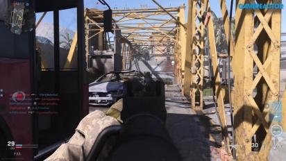 Call of Duty: Modern Warfare - Gameplay Team Death Match Euphrates Bridge