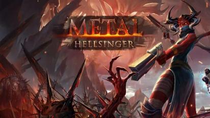 Metal: Hellsinger - Official Reveal Trailer