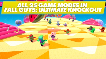 Fall Guys: Ultimate Knockout - Semua Mode Saat Ini