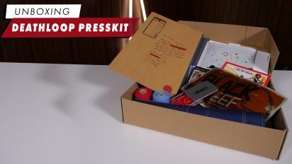 Deathloop - Unboxing Press Kit