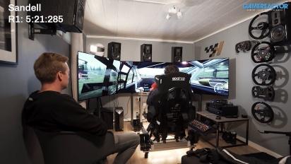 Gamereactor menantang juara dunia JRWC di Dirt Rally 2.0