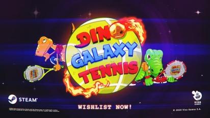 Dino Galaxy Tennis - Trailer Pengumuman Steam
