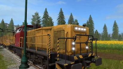 Farming Simulator 17 - Gameplay #3 : Life on the Railroad