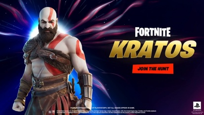 Fortnite - Trailer Set Kratos Baru
