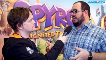 Spyro Reignited Trilogy - Wawancara Lou Studdert