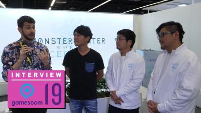 Monster Hunter World: Iceborne - Wawancara Kaname Fujioka, Ryozo Tsujimoto, dan Daisuke Ichihara