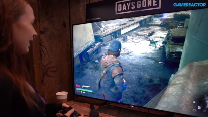 Days Gone - Gameplay PAX East 2019