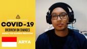 Menghadapi Wabah Virus Corona: Laporan Out of Office dari Arya