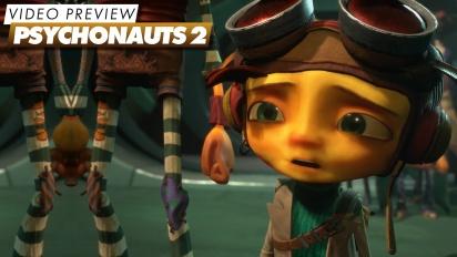 Psychonauts 2 - Video Preview