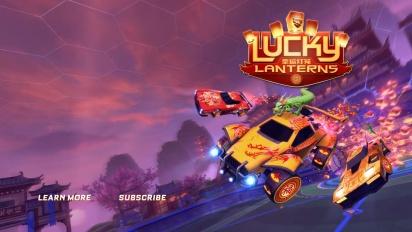 Rocket League - Lucky Lanterns Trailer