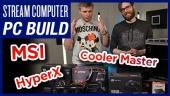 Membangun PC Streaming Gamereactor yang baru.