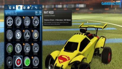 Rocket League - DC Heroes DLC Content