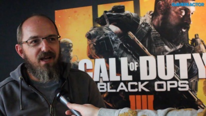 Call of Duty: Black Ops 4 - Wawancara David Vonderhaar