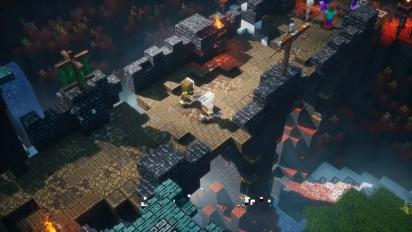 Minecraft Dungeons: Howling Peak - Trailer Peluncuran Resmi