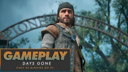 Days Gone - 30 menit pertama di PC