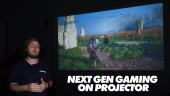 Quick Look - Next Gen Gaming di Proyektor - Proyektor BenQ TH585 DLP Projector