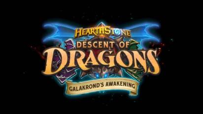 Hearthstone: Galakrond's Awakening Cinematic Trailer