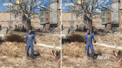 Fallout 4 - Xbox Series S Backward Compatibility Frame Rate Technical Demo