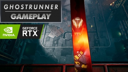 Ghostrunner - Ray Tracing Gameplay