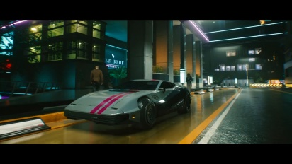 Cyberpunk 2077 - Rides of the Dark Future trailer