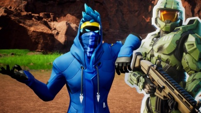 Fortnite - Red vs. Blue Memperkenalkan Trailer Kreatif Peta 'New Blood Gulch'