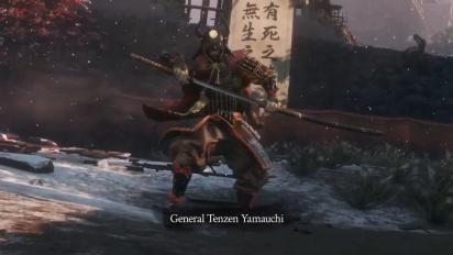 Sekiro: Shadows Die Twice - General Tenzen Yamauchi