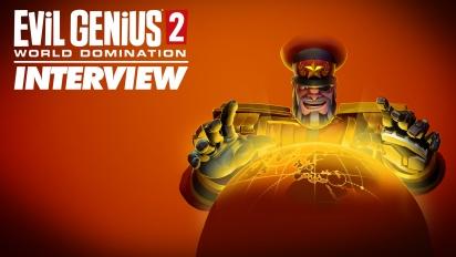 Wawancara tentang Evil Genius 2: World Domination