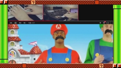 Super Mario Maker - Let's Super Mario Thank You 30th Anniversary Video