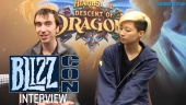 Hearthstone - Wawancara Descent of Dragons di Blizzcon
