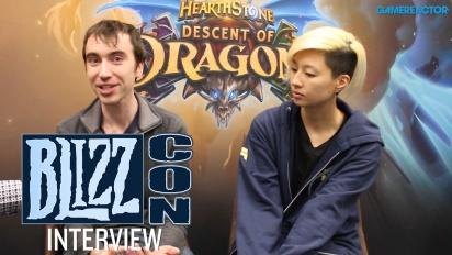 Hearthstone - Wawancara Descent of Dragons di Blizzcon
