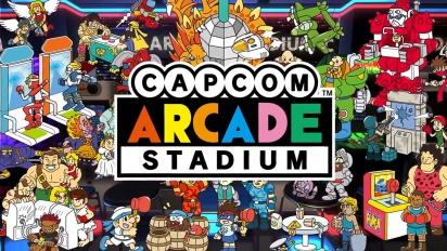 Capcom Arcade Stadium - Trailer Fitur