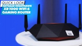 Router Gaming Netgear Nighthawk XR1000 Wi-Fi 6 - Quick Look
