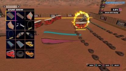 Dirt 5: Playgrounds - Demonstrasi Map Editor/Create