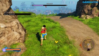 One Piece World Seeker - Gameplay di Gamescom