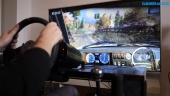 Dirt Rally 2.0 - Fanatec CSL Wheel Gameplay - Golf 2 GTI