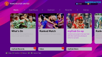 eFootball PES 2020 - MyClub Gameplay