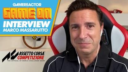 Assetto Corsa Competizione - Wawancara bersama Marco Massarutto
