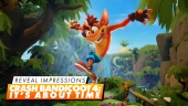 Crash Bandicoot: It's About Time - Impresi Pengumuman