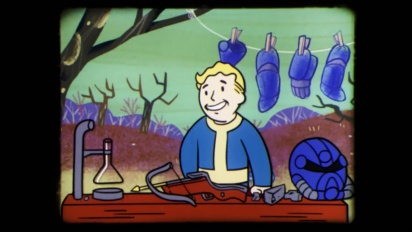 Fallout 76 - Vault-Tec Presents: Laying the Cornerstones! Crafting and Building Video