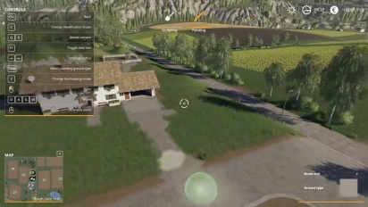 Farming Simulator 19 - Landscaping First Look