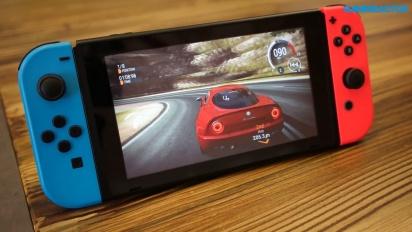 Gear.Club Unlimited - Nintendo Switch Tabletop Gameplay II