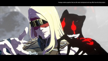 Guilty Gear: Strive - Millia and Zato Gameplay Footage