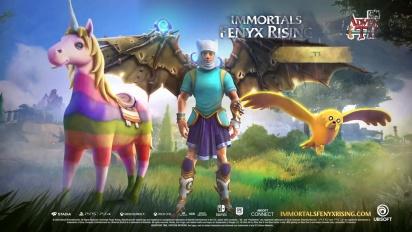 Immortals: Fenyx Rising - Adventure Time DLC Trailer