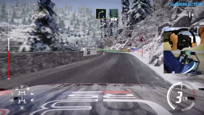 WRC 9 - Gameplay: Rallye Monte-Carlo Review Version