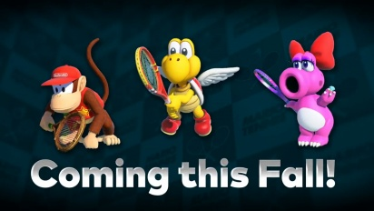 Mario Tennis Aces - Who Will Hit the Court Next?