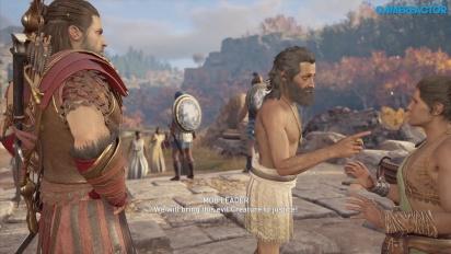 Assassin's Creed Odyssey - Lesbos Gameplay Bagian Satu