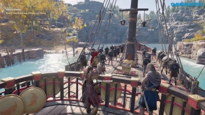 Assassin's Creed Odyssey - Lesbos Gameplay Bagian Dua