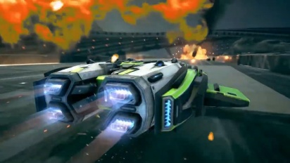 Grip: Combat Racing - AirBlades vs Rollers Ultimate Edition Trailer