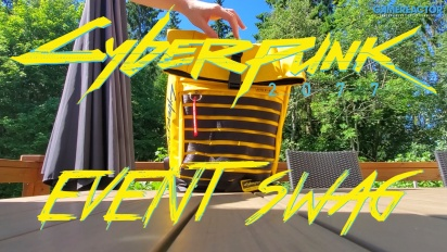 Cyberpunk 2077 - Unboxing Event Swag